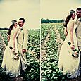 Bride-groom-in-field